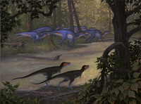 Nanotyrannus and Anatotitan